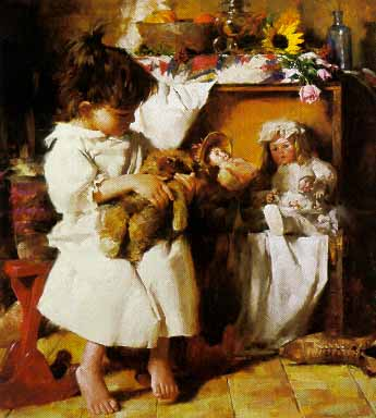 "Morgan Weistling Limited Edition Print: ""Still The Favorite"""