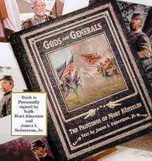 "Mort Kunstler Handsigned & Numbered Limited Edition Book w/ 4 prints:""The Four Generals"""