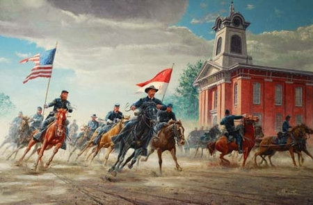"Mort Kunstler Handsigned & Numbered Limited Edition Print :""Rendezvous with Destiny"""
