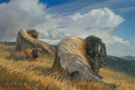 """Nancy Glazier Hand Signed and Numbered Limited Edition Giclee Print: """"High Ground"""""""