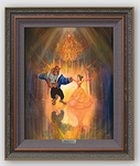 "Disney Framed Limited Edition Canvas Giclee:""The Perfect Dance"" by John Rowe"