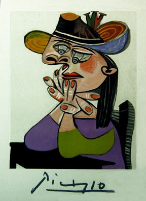 Pablo Picasso Limited Edition Lithograph on Paper: \