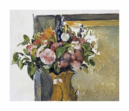 "Paul Cezanne Fine Art Open Edition Giclée:""Flowers in a Vase"""