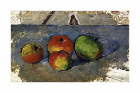 "Paul Cezanne Fine Art Open Edition Giclée:""Four Apples"""