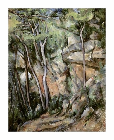 "Paul Cezanne Fine Art Open Edition Giclée:""In the Park of Chateau Noir"""