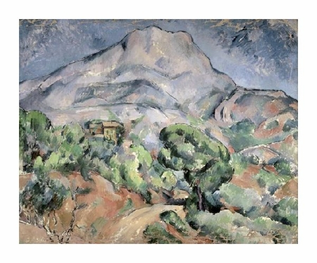 "Paul Cezanne Fine Art Open Edition Giclée:""Mount St. Victoire"""