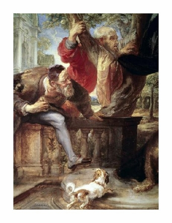 "Peter Paul Rubens Fine Art Open Edition Giclée:""Susanna and the Two Elders"""