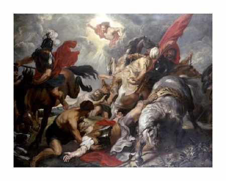 "Peter Paul Rubens Fine Art Open Edition Giclée:""The Conversion of St. Paul"""