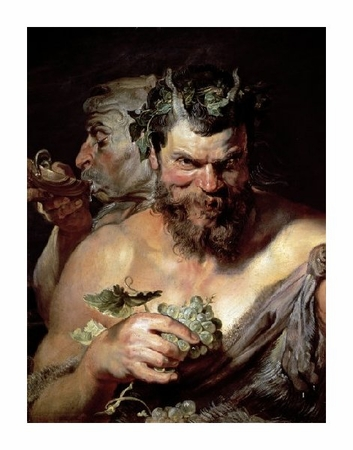 "Peter Paul Rubens Fine Art Open Edition Giclée:""The Two Satyrs"""