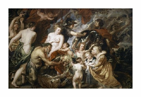 "Peter Paul Rubens Fine Art Open Edition Giclée:""War & Peace"""