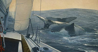 """Randall Scott Limited Edition Print:""""Voyagers"""""""