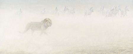 "Robert Bateman Limited Edition Print:""Out Of Range """