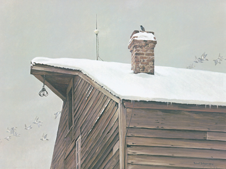 "Robert Bateman Limited Edition Print: ""The Immigrants"""
