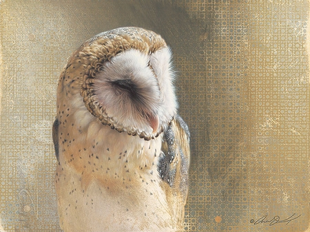 """Andrew Denman Hand-signed and Numbered Limited Edition Canvas Giclee:""""Minerva"""""""