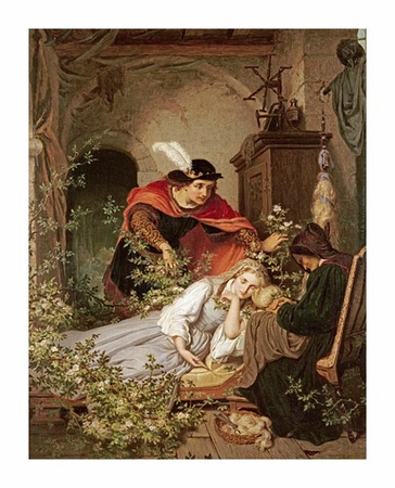 "Roland Risse Fine Art Open Edition Giclée:""Sleeping Beauty"""