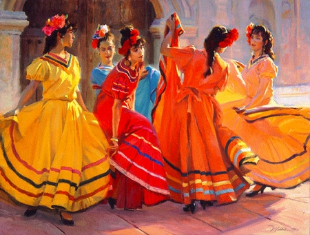 "Ron Riddick Limited Edition Print:""Prelude To The Dance"""
