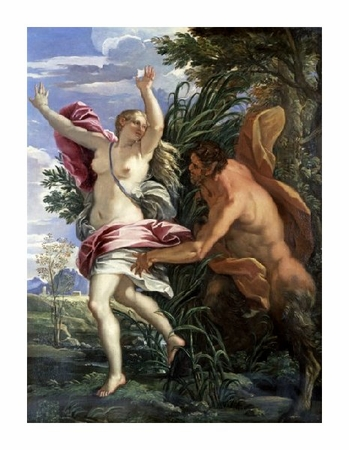 "Sebastiano Ricci Fine Art Open Edition Giclée:""Pan and Syrinx"""
