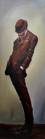 "Frank Morrison Hand Signed and Numbered Limited Edition Giclee on Paper:""Swagger"""