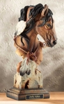 "Stephen Herrero Fine Art Sculpture:""Sunka Wakan – Horse Sculpture"""