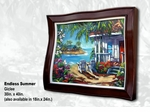 "Steve Barton Wavy Framed Limited Edition Canvas: ""Endless Summer"""
