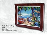 "Steve Barton Wavy Framed Limited Edition Canvas: ""North Shore Calling"""