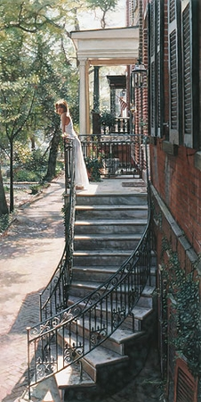 "Steve Hanks Handsigned and Numbered Limited Edition Print:""A New Beginning"""