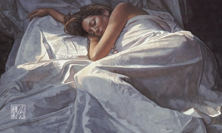 "Steve Hanks Handsigned & Numbered Limited Edition Print:""First Light"""
