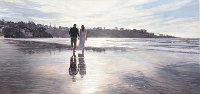 "Steve Hanks Handsigned & Numbered Limited Edition Print:""Hold On to Your Dreams """
