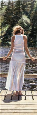 "Steve Hanks Handsigned & Numbered Limited Edition Print:""Like Diamonds in the Sun"""