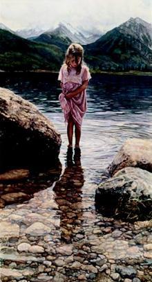 "Steve Hanks Handsigned & Numbered Limited Edition Print:""Nature's Beauty"""