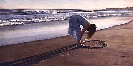 "Steve Hanks Handsigned & Numbered Limited Edition Print:""The Daughter of a Great Romance"""