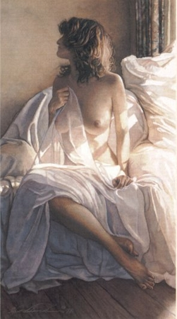 "Steve Hanks Handsigned & Numbered Limited Edition Print:""Yesterday is a Long Time Ago"""