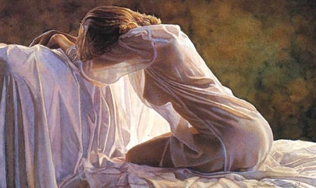 "Steve Hanks Limited Edition Giclee on Paper: ""Forever a Mystery"""