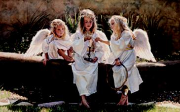 "Steve Hanks Limited Edition Print: ""Candle in the Wind"""