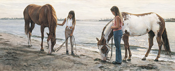 "Steve Hanks Limited Edition Print: ""Connections"""