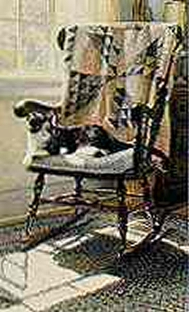 "Steve Hanks Limited Edition Print: ""The Cat's Lair"""