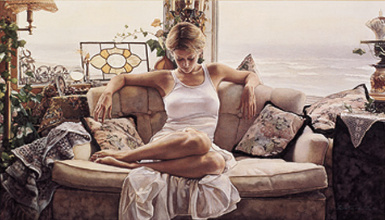 """Steve Hanks Limited Edition Print: """"To Search Within"""""""