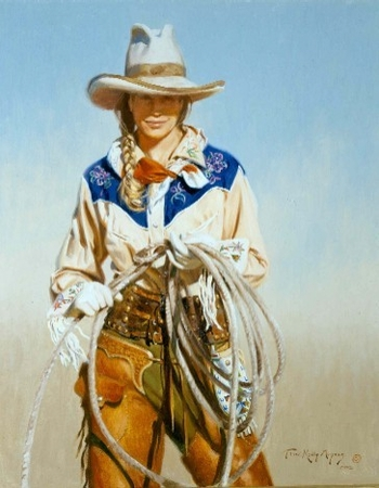 """Terri Kelley Moyers Handsigned & Numbered Limited Edition:""""With Attitude"""""""