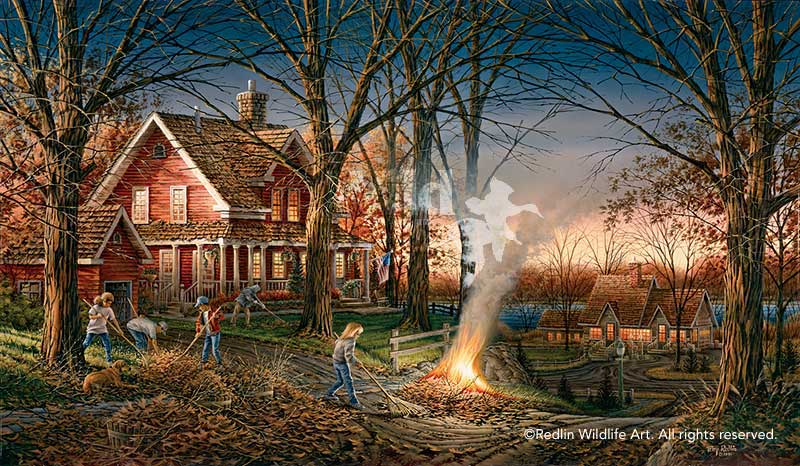 Terry Redlin Museum Edition Oversize Canvas Quot Autumn