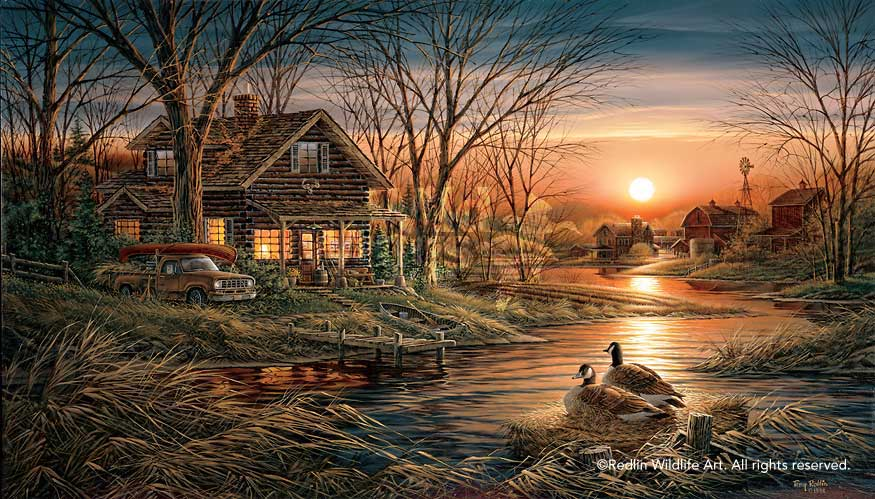 Terry Redlin Museum Edition Oversize Canvas Quot Shoreline