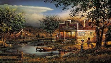 "Terry Redlin Open Edition Print:""Summertime """