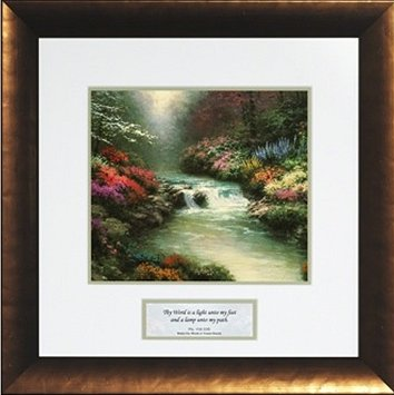 Thomas Kinakde Framed Inspirational Open Edition Prints