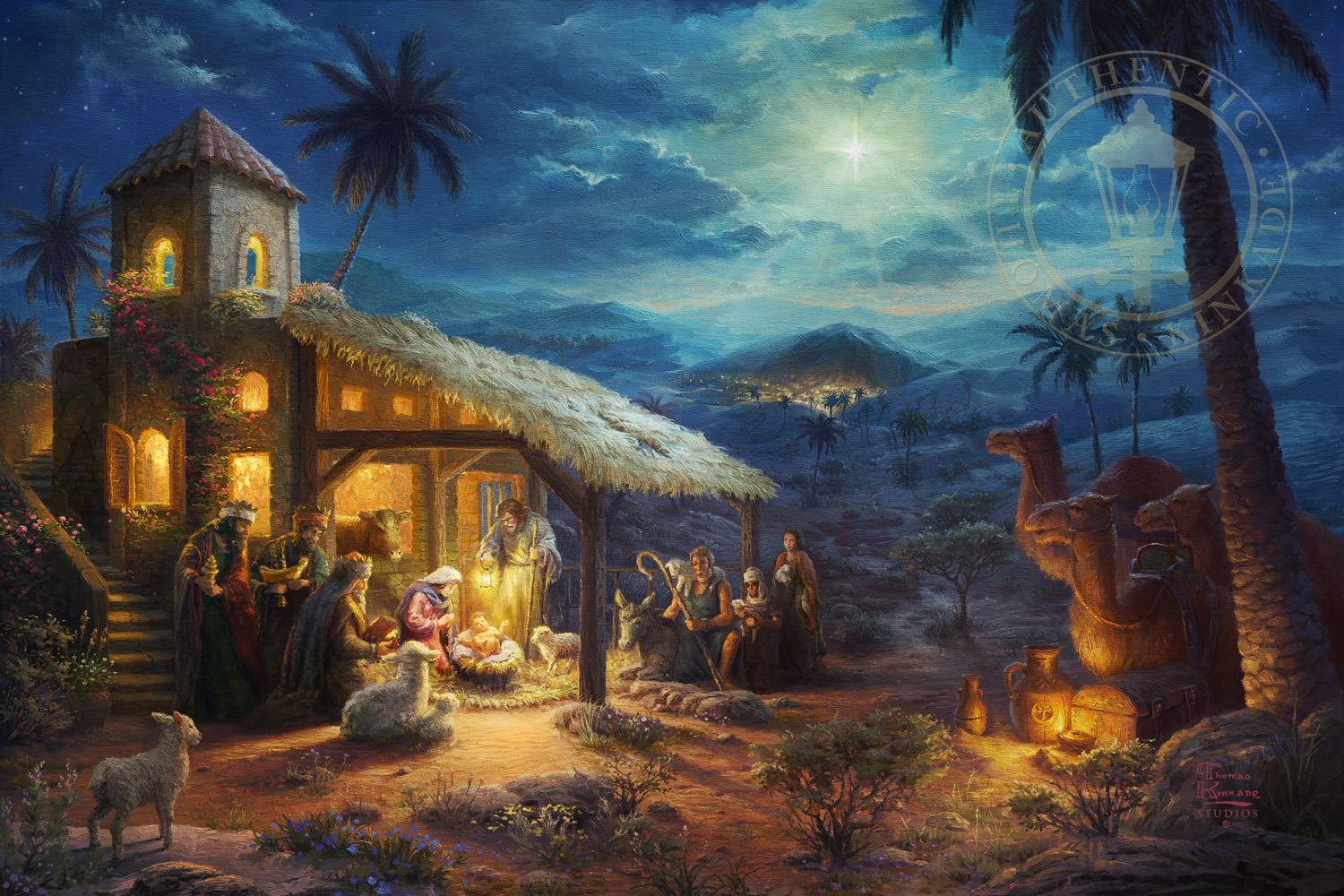 Thomas Kinkade Signed And Numbered Limited Edition Giclee