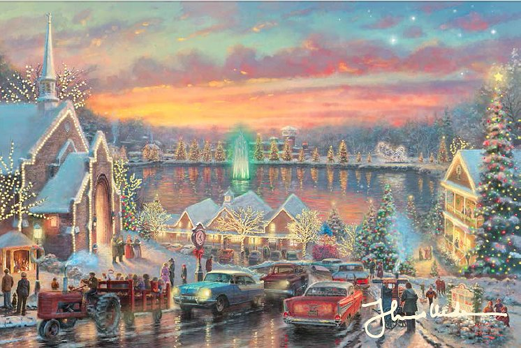Thomas Kinkade Signed and Numbered Limited Edition Fine Art Print ...