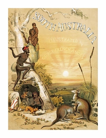 """Thomas Mclean Fine Art Open Edition Giclée:""""South Australia Illustrated, Title Page"""""""