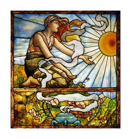 "Tiffany Studios Fine Art Open Edition Giclée:""Window"""