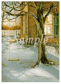 "Trisha Romance Hand Signed and Numbered Limited Edition Print ""Till Next Season"""