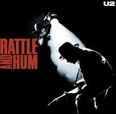 "U2 Rock Album Cover Art on Stretched Archival Canvas:""Rattle and Hum"""