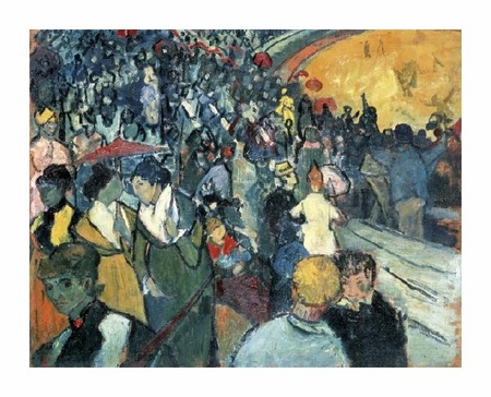 "Vincent Van Gogh Fine Art Open Edition Giclée:""Arena in Arles"""