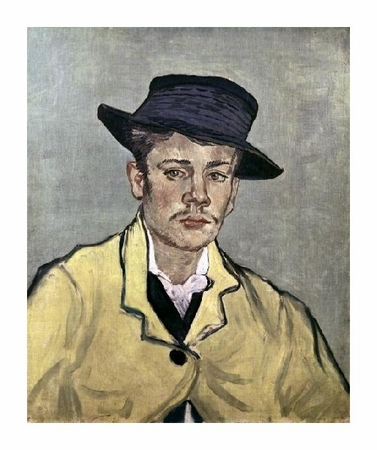 "Vincent Van Gogh Fine Art Open Edition Giclée:""Portrait of Armand Roulin"""